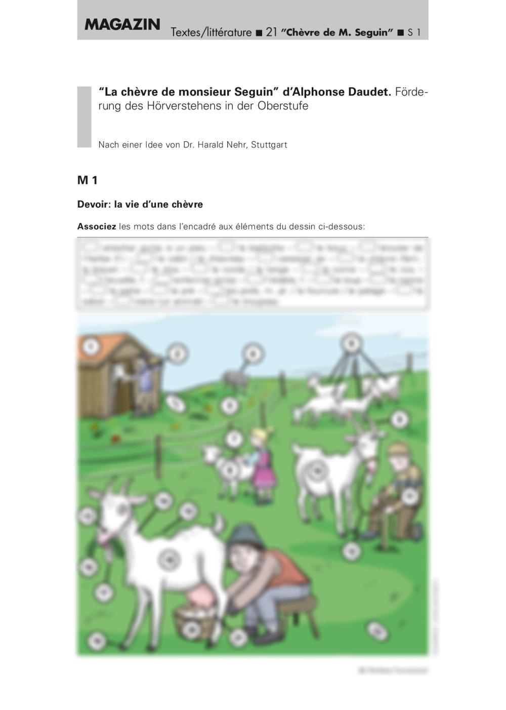 Förderung des Hörverstehens - Seite 1