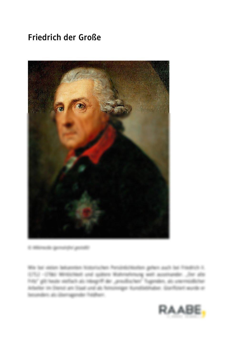 Friedrich der Große - Seite 1