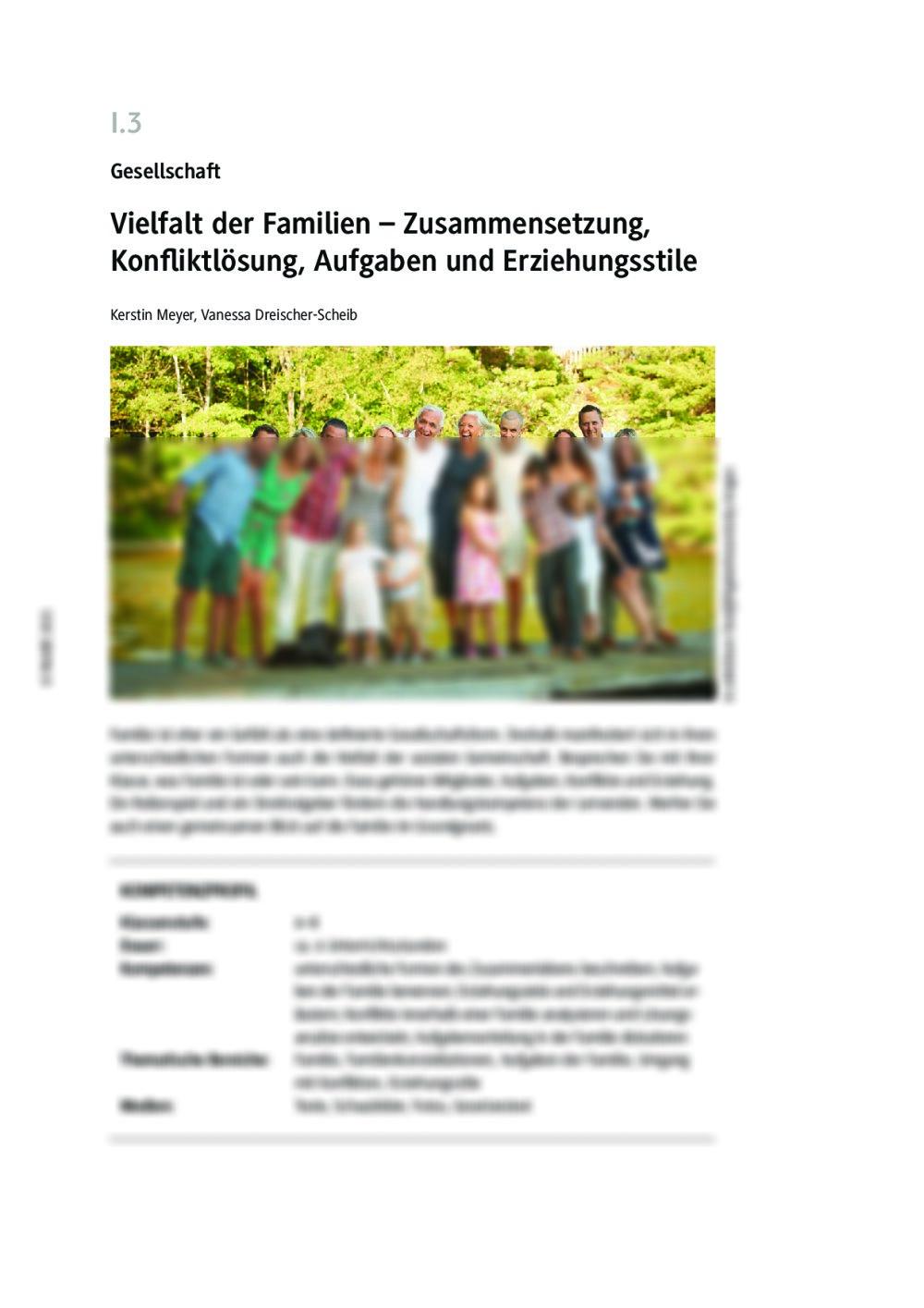 Vielfalt der Familien - Seite 1