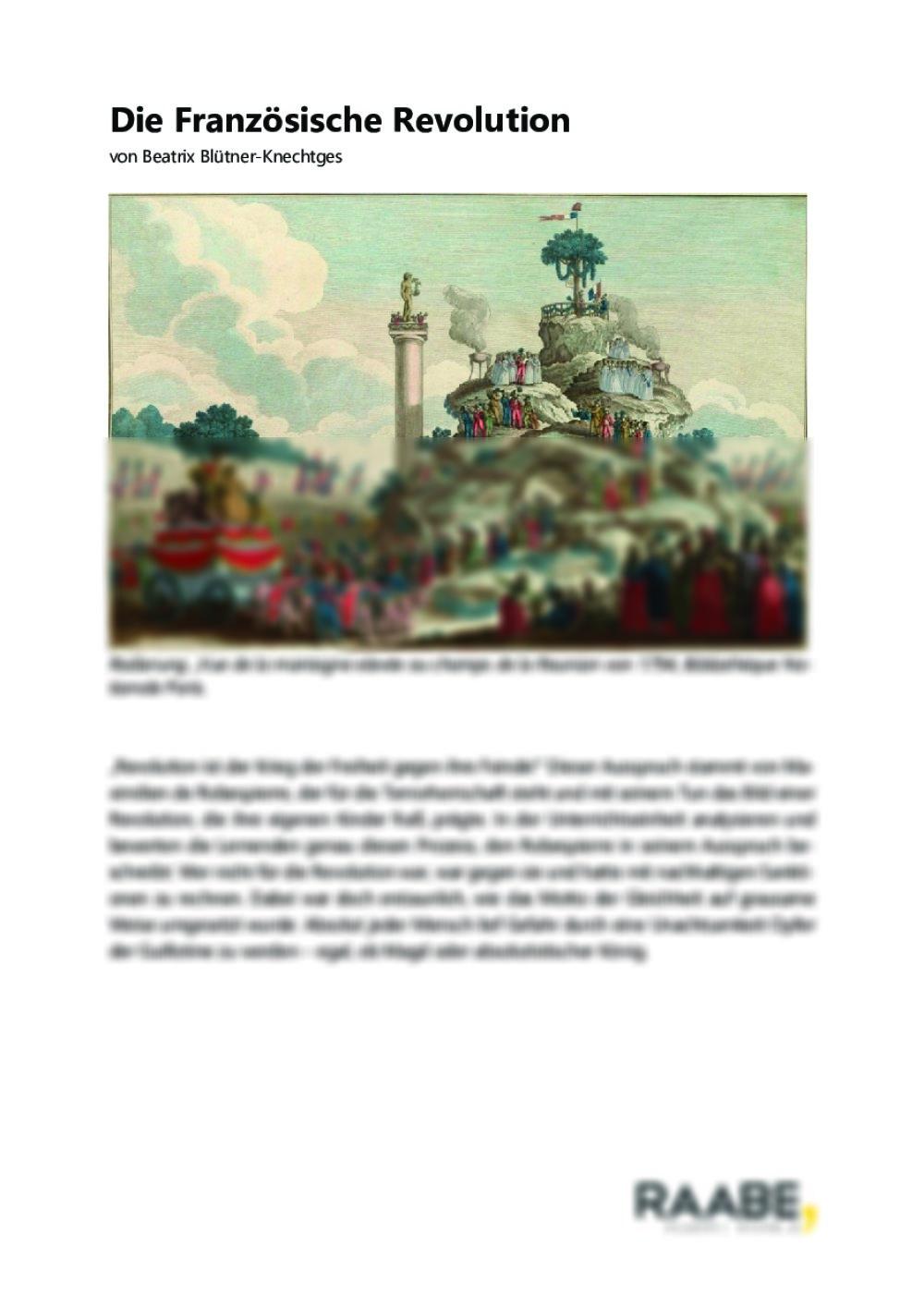 Die Französische Revolution - Seite 1