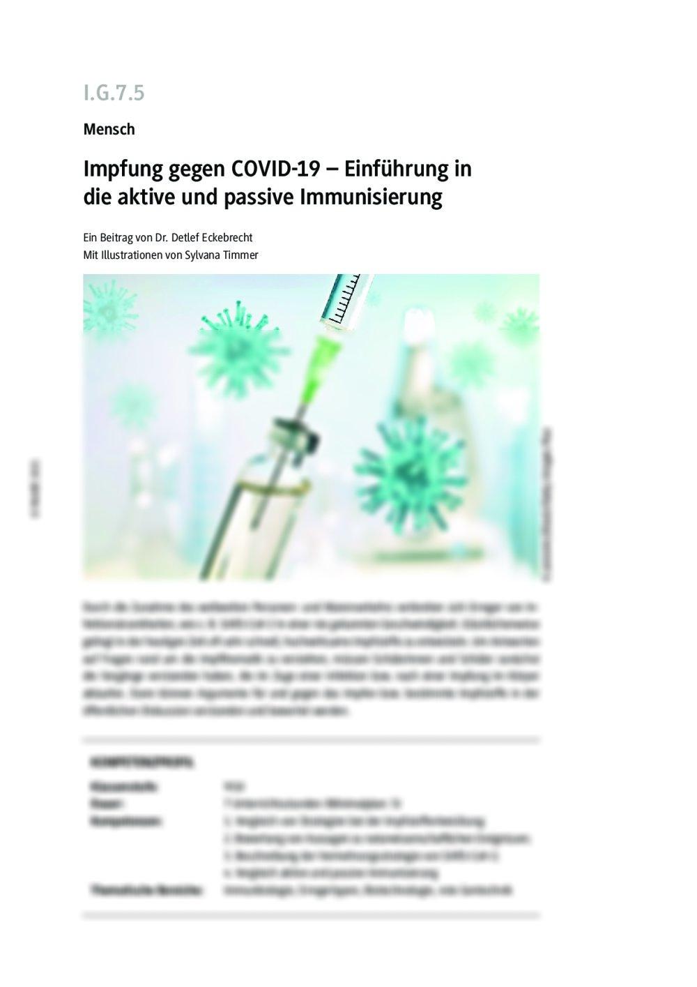 Impfung gegen COVID-19 - Seite 1
