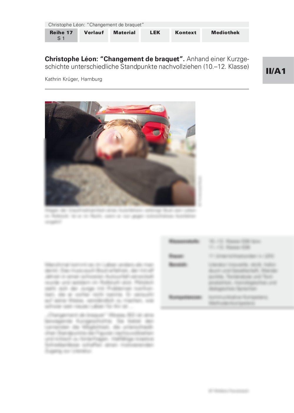 "Christophe Léon: ""Changement de braquet"" - Seite 1"