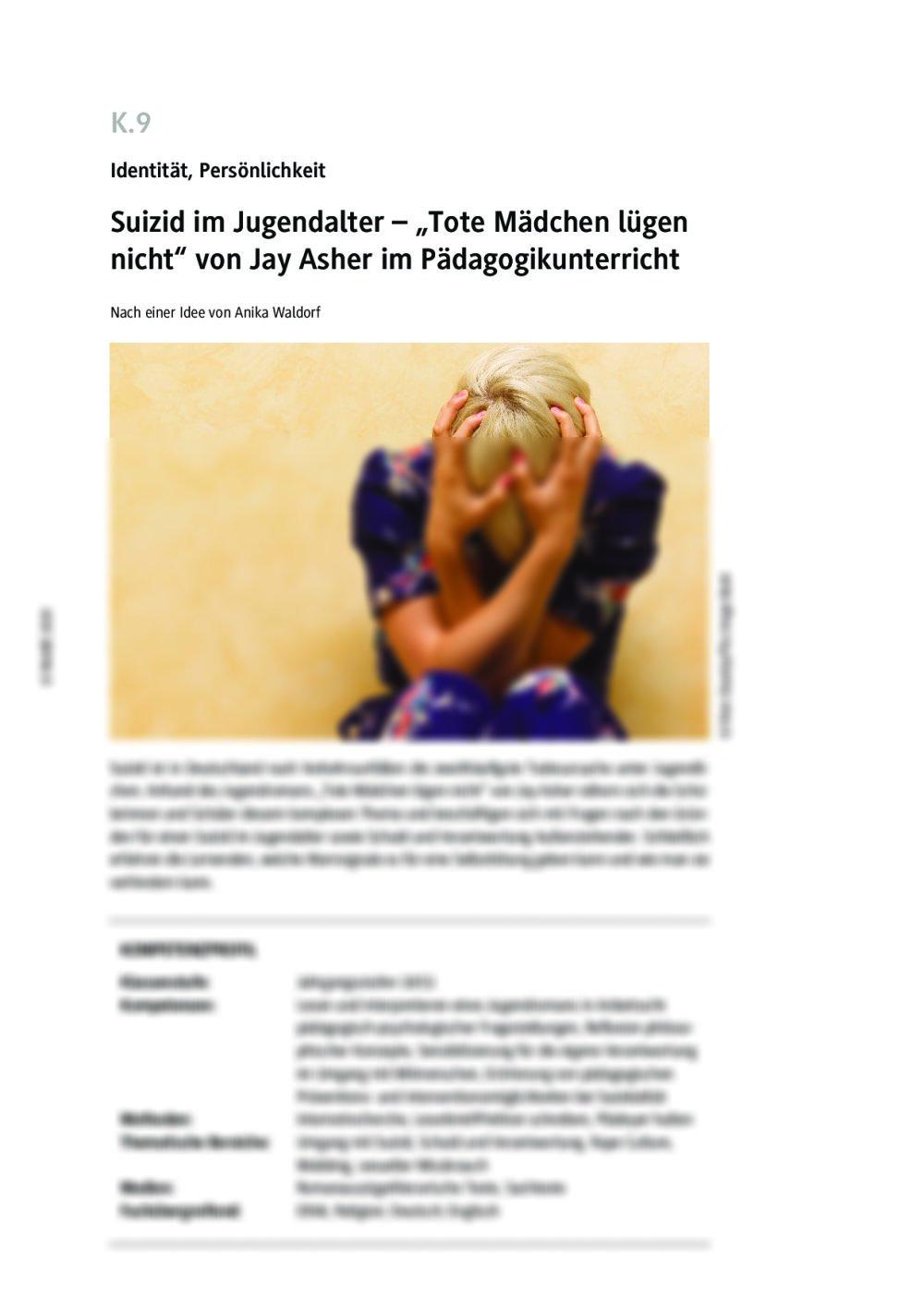 Suizid im Jugendalter - Seite 1