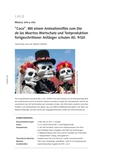 """Hör-Seh-Verstehen mit dem Animationsfilm """"Coco"""" zum Día de los Muertos"""