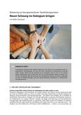 Reteaming als lösungsorientierter Teambildungsprozess