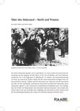 Täter des Holocaust – Recht und Prozess