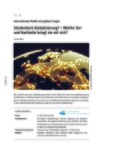 Sündenbock Globalisierung?