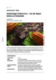 Von der Kakaobohne zur Schokolade