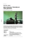 Ideas on democracy