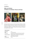 Nähe und Distanz bei Richter, Picasso und Goya