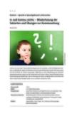 Wiederholung der Satzarten und Übungen zur Kommasetzung