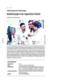 Reaktionswege in der organischen Chemie – Teil 1