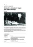 Deutschlands langer Weg zur Demokratie
