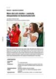 Szenische Interpretation im Deutschunterricht