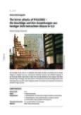 The terror attacks of 9/11/2001