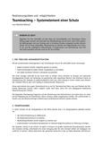 Teamteaching – Systemelement einer Schule