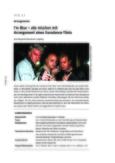 """Arrangement des Eurodance-Titels """"Blue"""""""