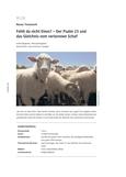 Der Psalm 23 und das Gleichnis vom verlorenen Schaf