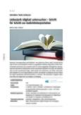 Liebeslyrik (digital) erschließen