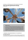 Erziehungs- und Bildungspartnerschaft systematisch entwickeln
