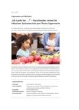 Forschendes Lernen im inklusiven Sachunterricht zum Thema Supermarkt