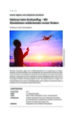 Vektoren beim Drohnenflug