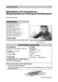 Übungsmaterialien zur Förderung der Schreibkompetenz