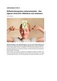 Reflexionskompetenz: Den eigenen Unterricht reflektieren und verbessern