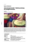 Rhythmusschulung mit Schlaginstrumenten
