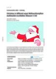 Weihnachtsmythen multimedial erschließen