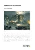 Die Revolution von 1848/1849