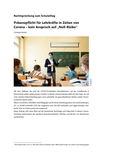 """Präsenzpflicht für Lehrkräfte in Zeiten von Corona – kein Anspruch auf """"Null-Risiko"""""""