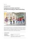 Funktionen der Schule