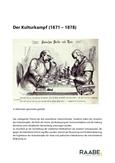 Der Kulturkampf (1871 – 1878)