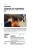 Terrorism after 9/11