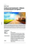 Schaffen wir die Energiewende?
