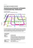 Streckenmessung, Streckennetze und  Navigation in Streckennetzen