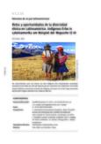 Retos y oportunidades de la diversidad étnica en Latinoamérica