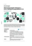 Abiturtraining kompakt: Shakespeare - curse or blessing for young audiences?