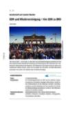 DDR und Wiedervereinigung