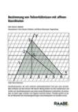 Bestimmung von Teilverhältnissen mit affinen Koordinaten