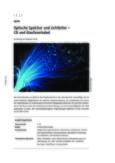 Optische Speicher und Lichtleiter