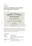 Ecossaisen und Walzer von Franz Schubert