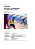 Die Grundschläge im Badminton kennenlernen