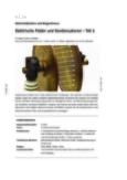 Elektrische Felder und Kondensatoren – Teil 1