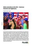 Ethnic minorities in the USA