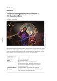 Vier Bluesarrangements in Rondoform