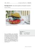 Essen plastisch gestalten und fotografisch inszenieren