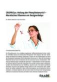 CRISPR/Cas: Heilung der Phenylketonurie?