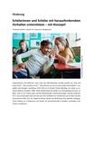 So unterstützen Sie Schüler mit herausforderndem Verhalten